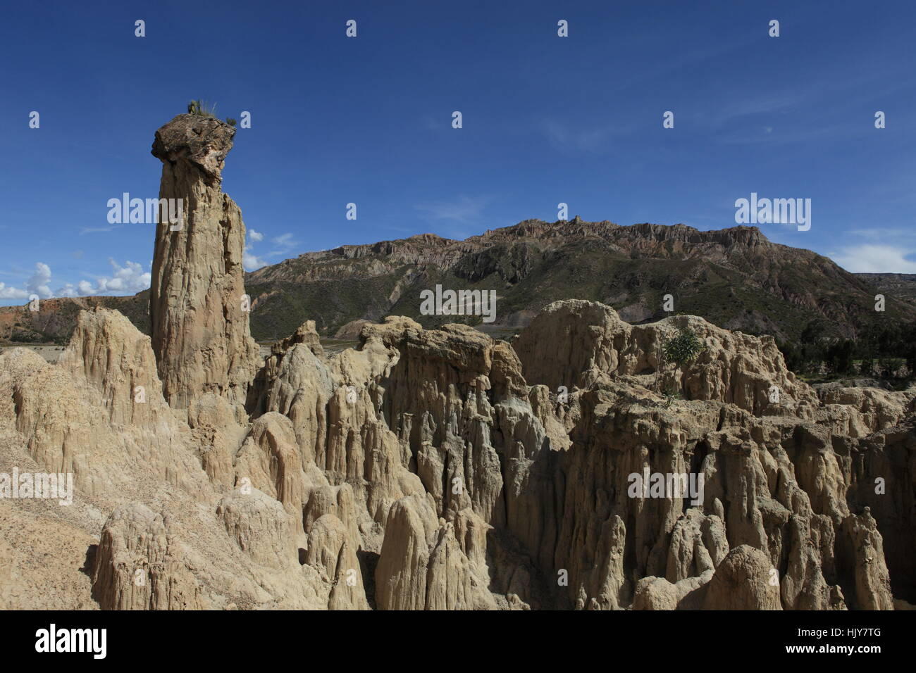 erosion, south america, andes, bolivia, rock, erosion, south america, geology, Stock Photo