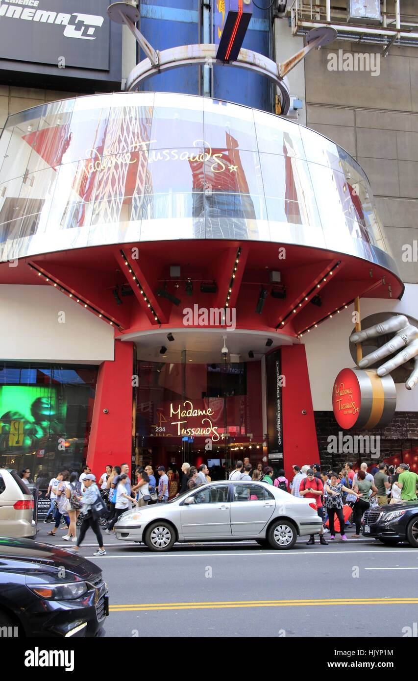 Madame Tussauds In The Theater District Of New York City