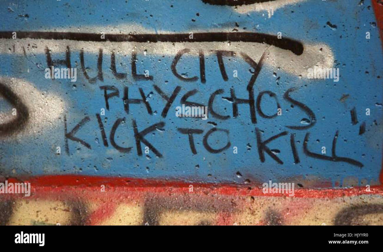 Berlin Wall Graffiti - Stock Image