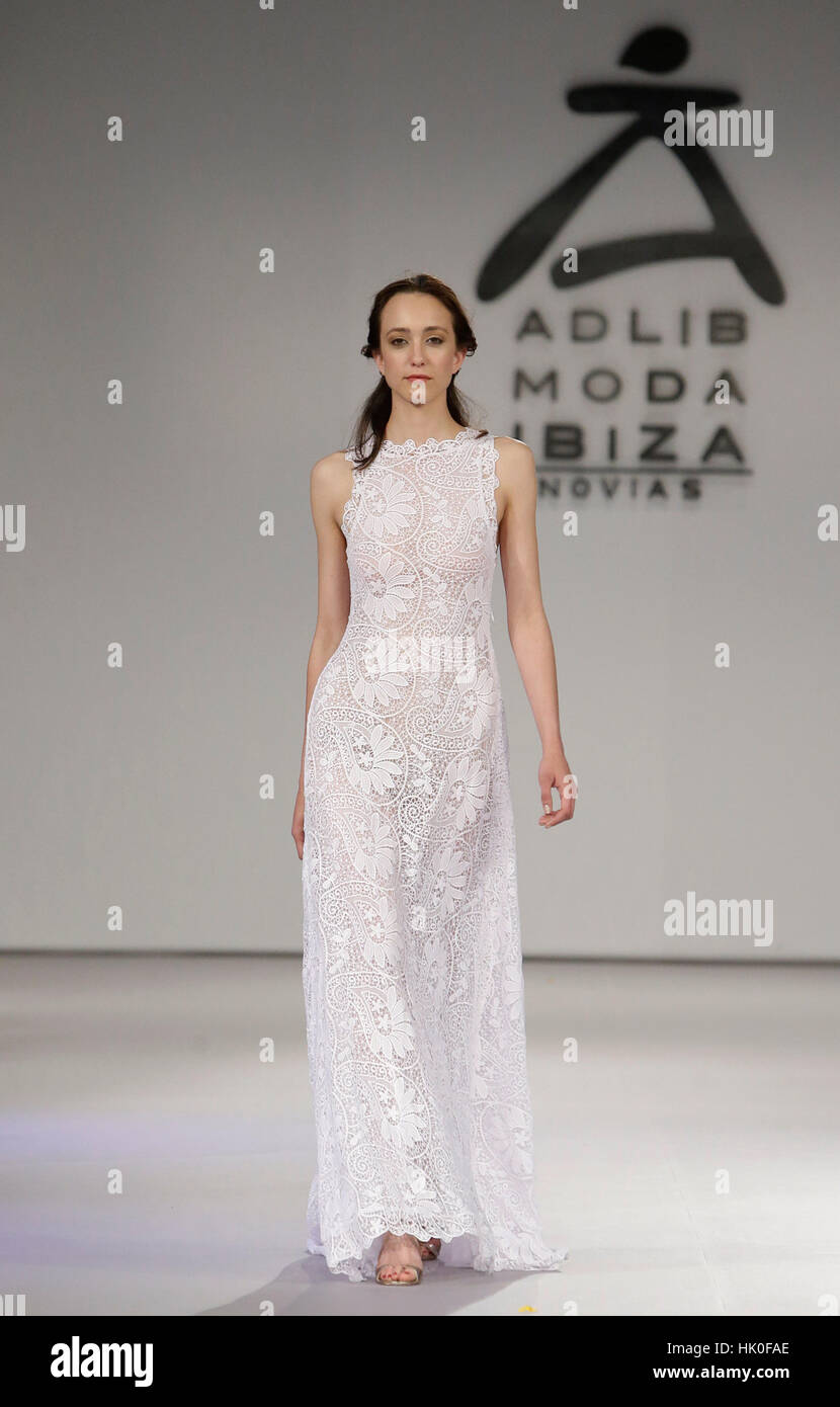 52216845b A model wears at collection runway a creation from Charo Ruiz during the  3rd edition of