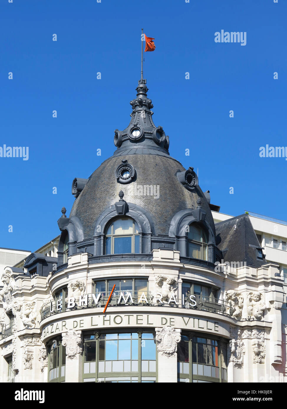 paris bhv marais bazar de stock photos paris bhv marais bazar de stock images alamy. Black Bedroom Furniture Sets. Home Design Ideas