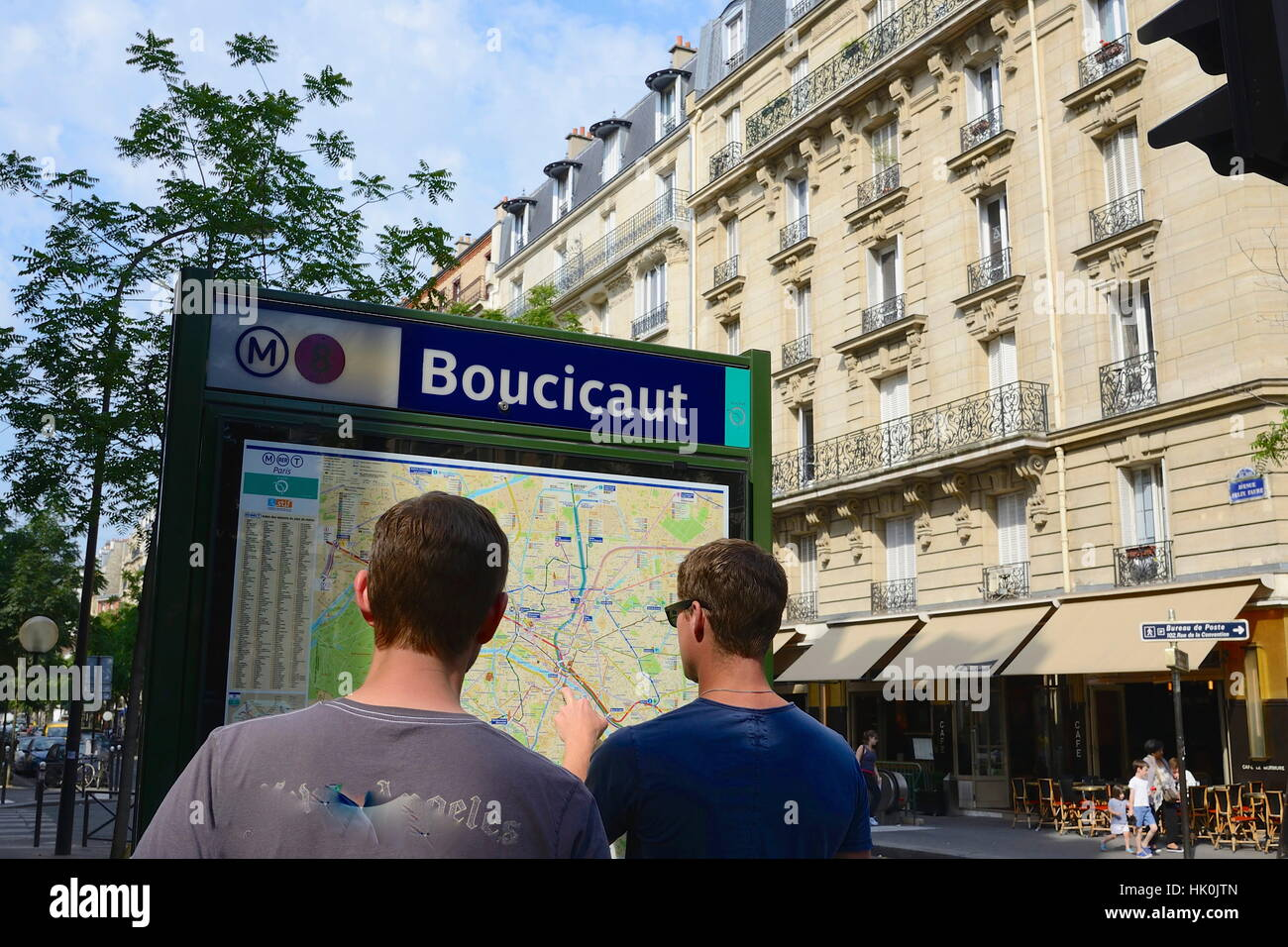 France Paris Th Arrondissement Avenue Félix Faure Boucicaut - Paris street map with metro stations