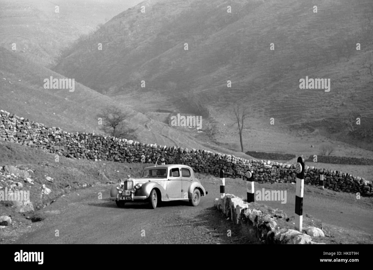 Alvis TA21 1953. RAC Rally 1954. - Stock Image