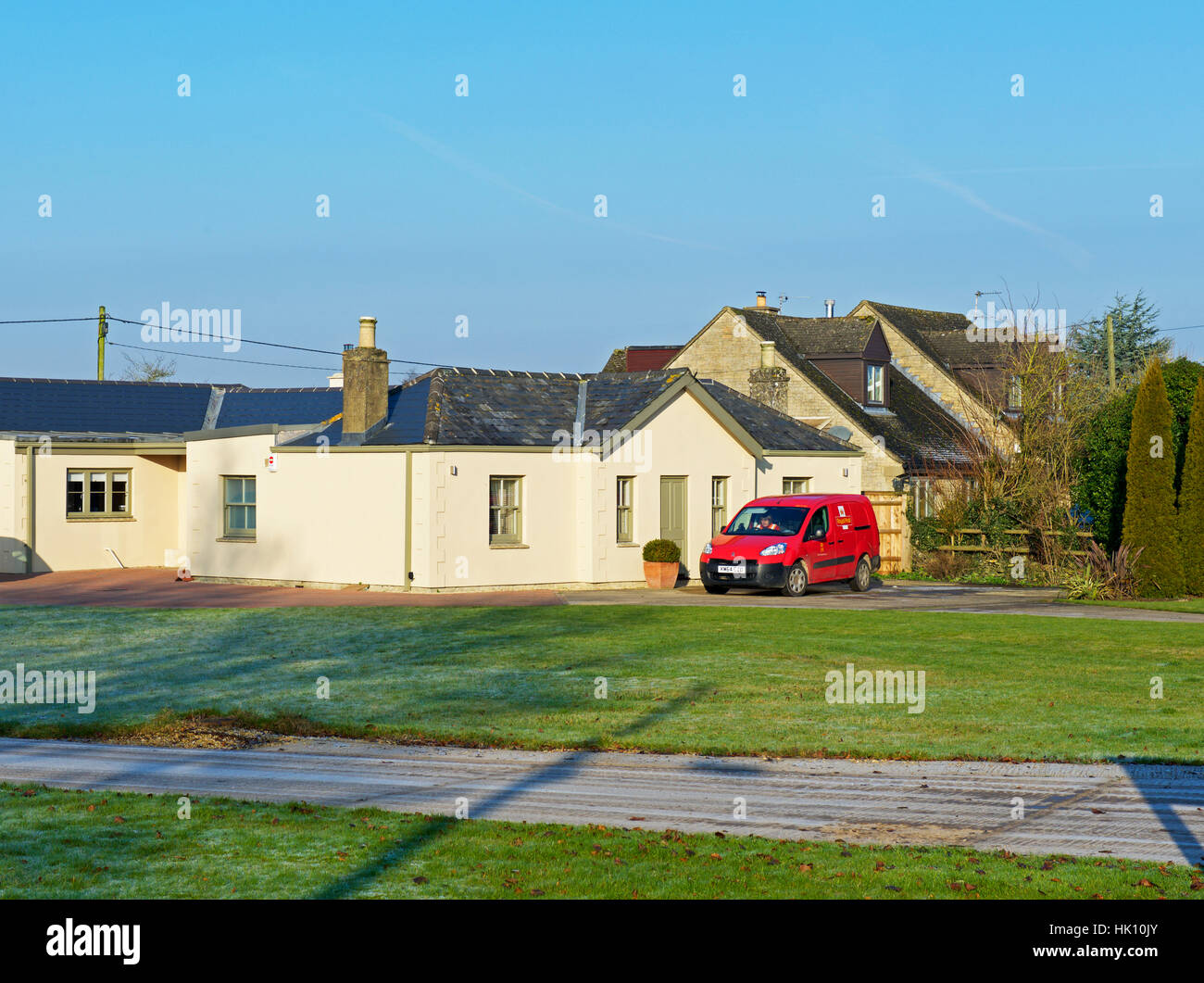 Bungalow in Charterville Allotments, Minster Lovell, Oxfordshire, England uk - Stock Image