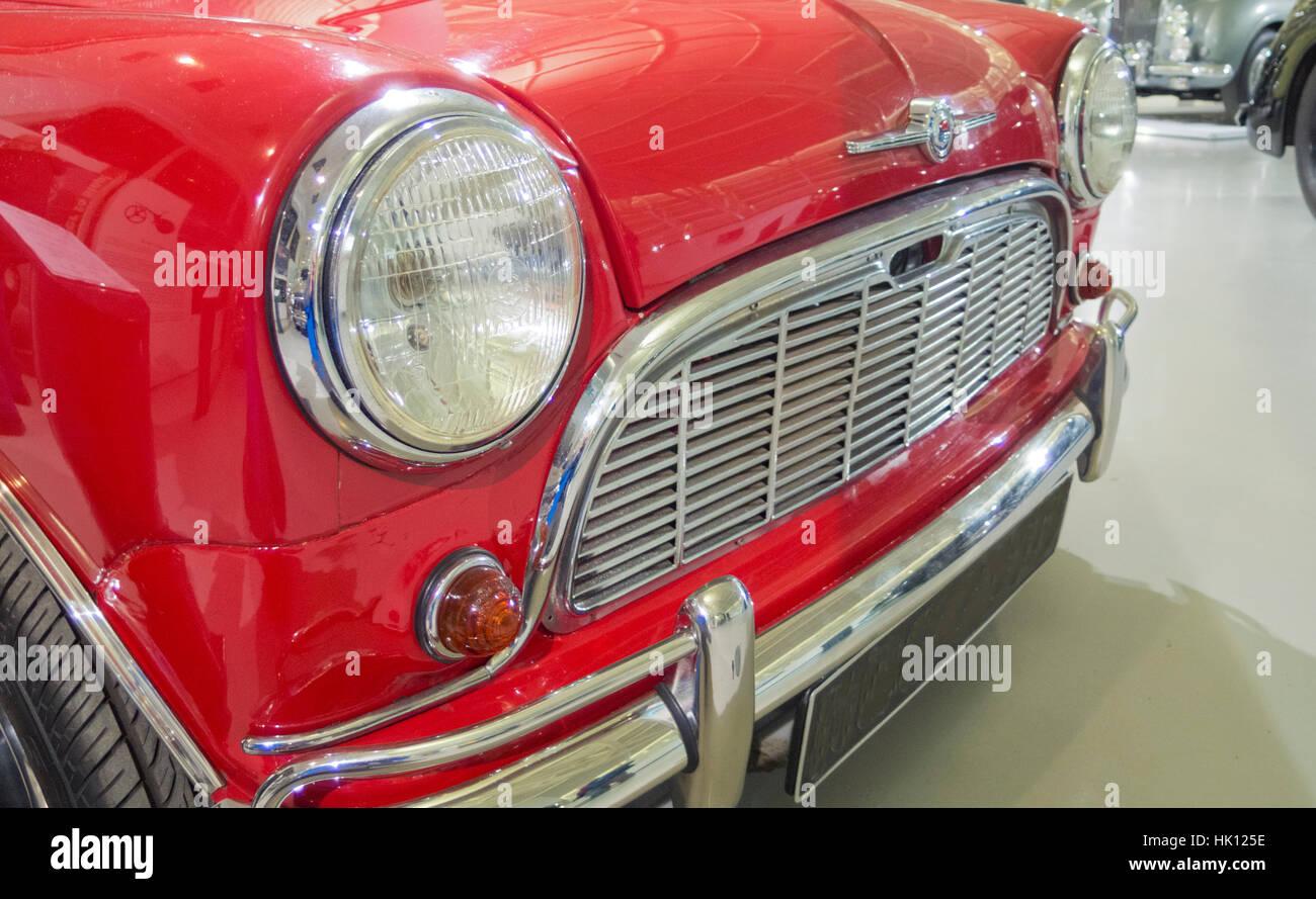 Morris Mini Traveller Mark One Estate Car ( Austin Mini Countryman Version Very Similar ), UK - Stock Image