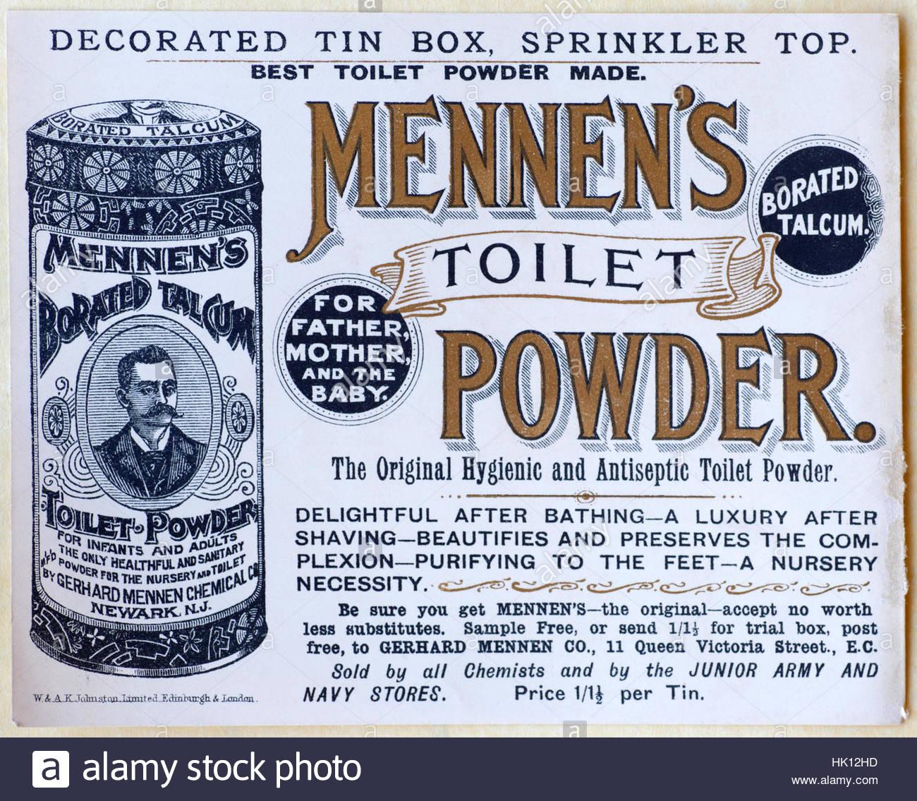 Toilet Powder Stock Photos & Toilet Powder Stock Images - Alamy