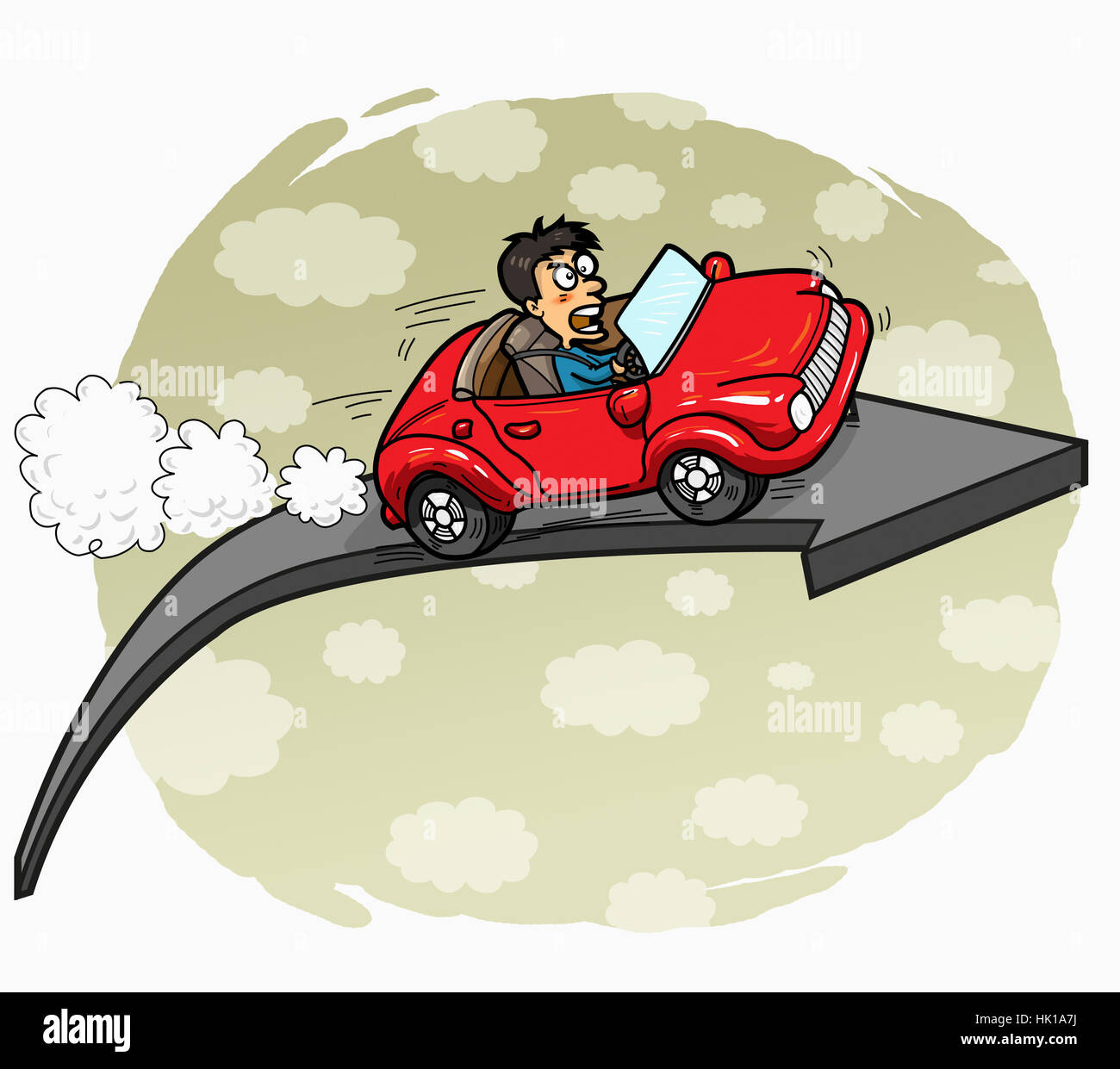 transportation cloud - Stock Image