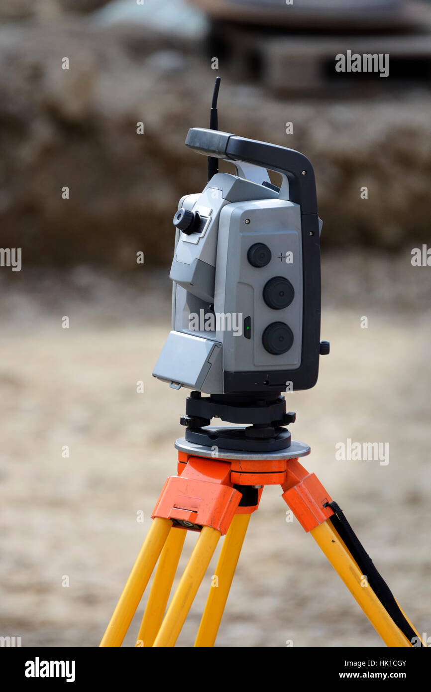 Engineering Level Technology Tripod Equipment Measurement Survey