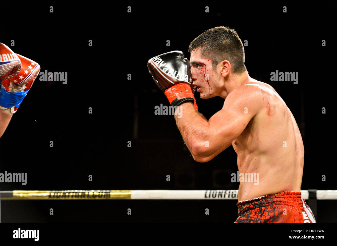 Bloody Mma Fight Stock Photos & Bloody Mma Fight Stock