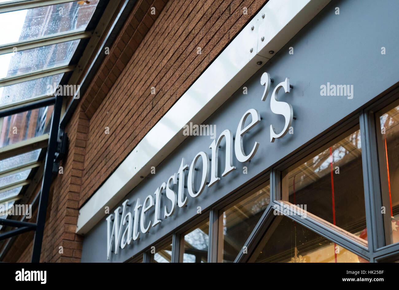 Waterstone's the booksellers shop the booksellers shop - Stock Image