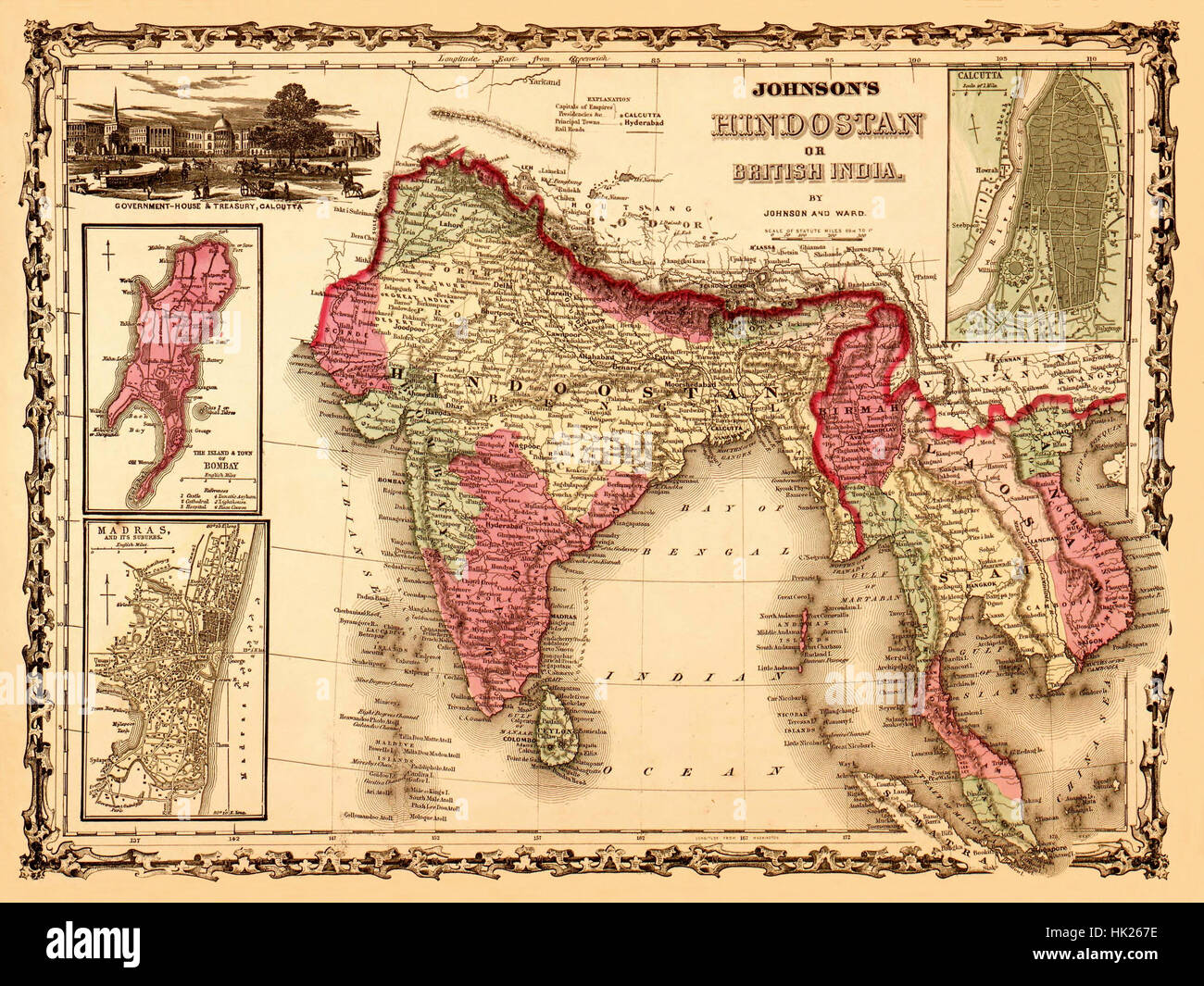 Map Of India 1867 Stock Photo: 132199858 - Alamy Governmet Map Of India Images on nepal india, cities in india, taj mahal india, rivers in india, dharamsala india, kolkata india, mundra india, food in india, mysore india, map southeast asia, kerala india, west bengal india, physical map india, vizag india, goa india, jaisalmer india, shimla india, delhi india, chennai india, ganges river india,