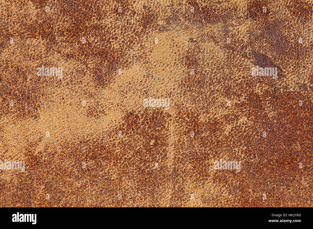 old distressed worn leather background texture - Stock Image