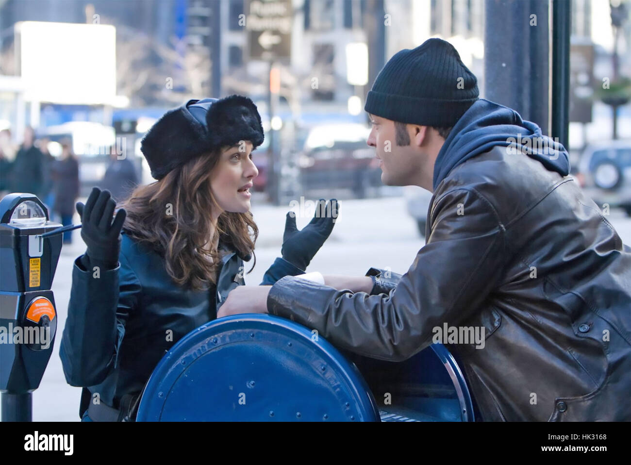 FRED CLAUS 2007 Warner Bros film with Rachel Weisz and Vince Vaughn - Stock Image