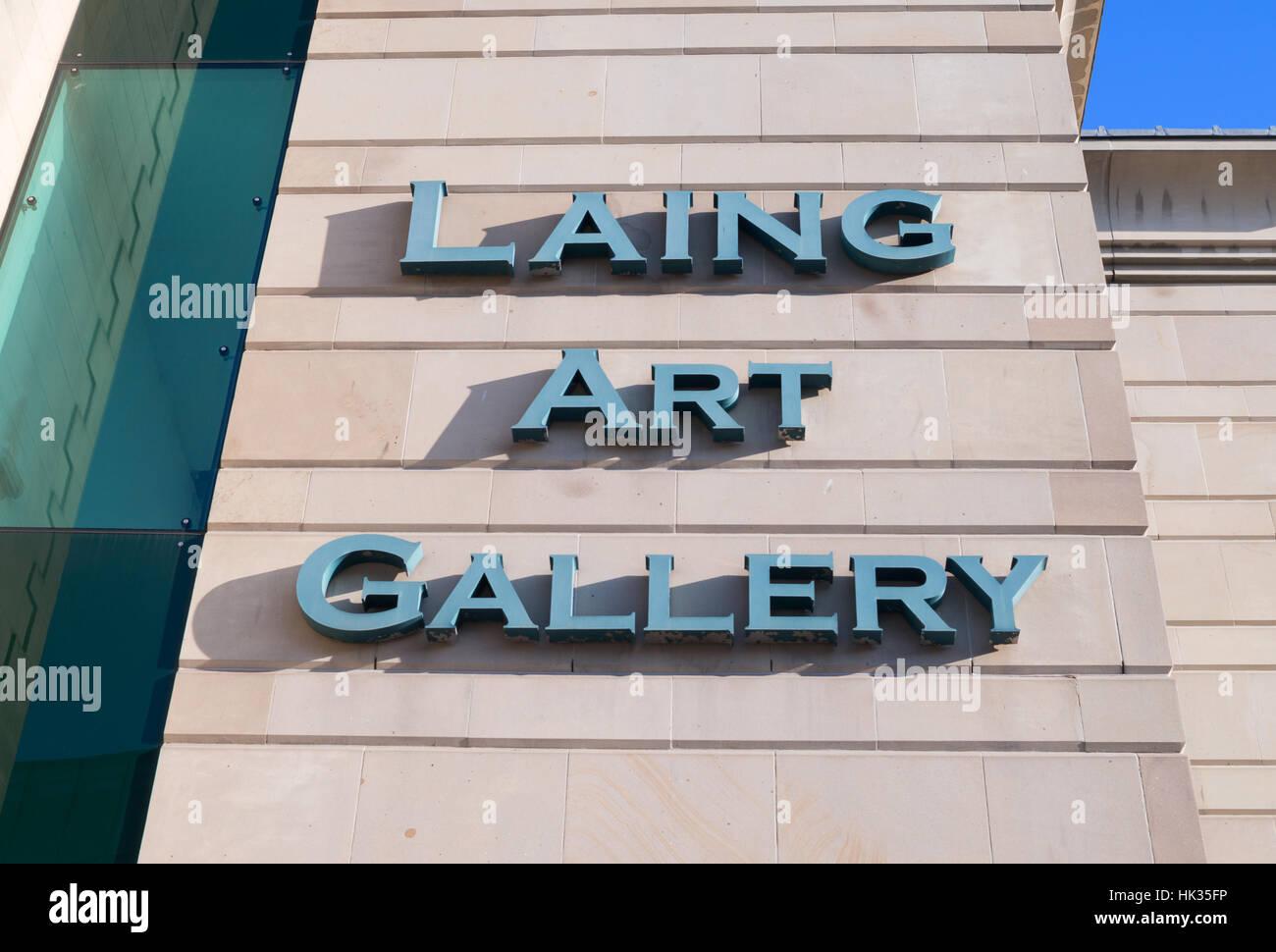 Laing Art Gallery, Newcastle upon Tyne, England, UK Stock Photo