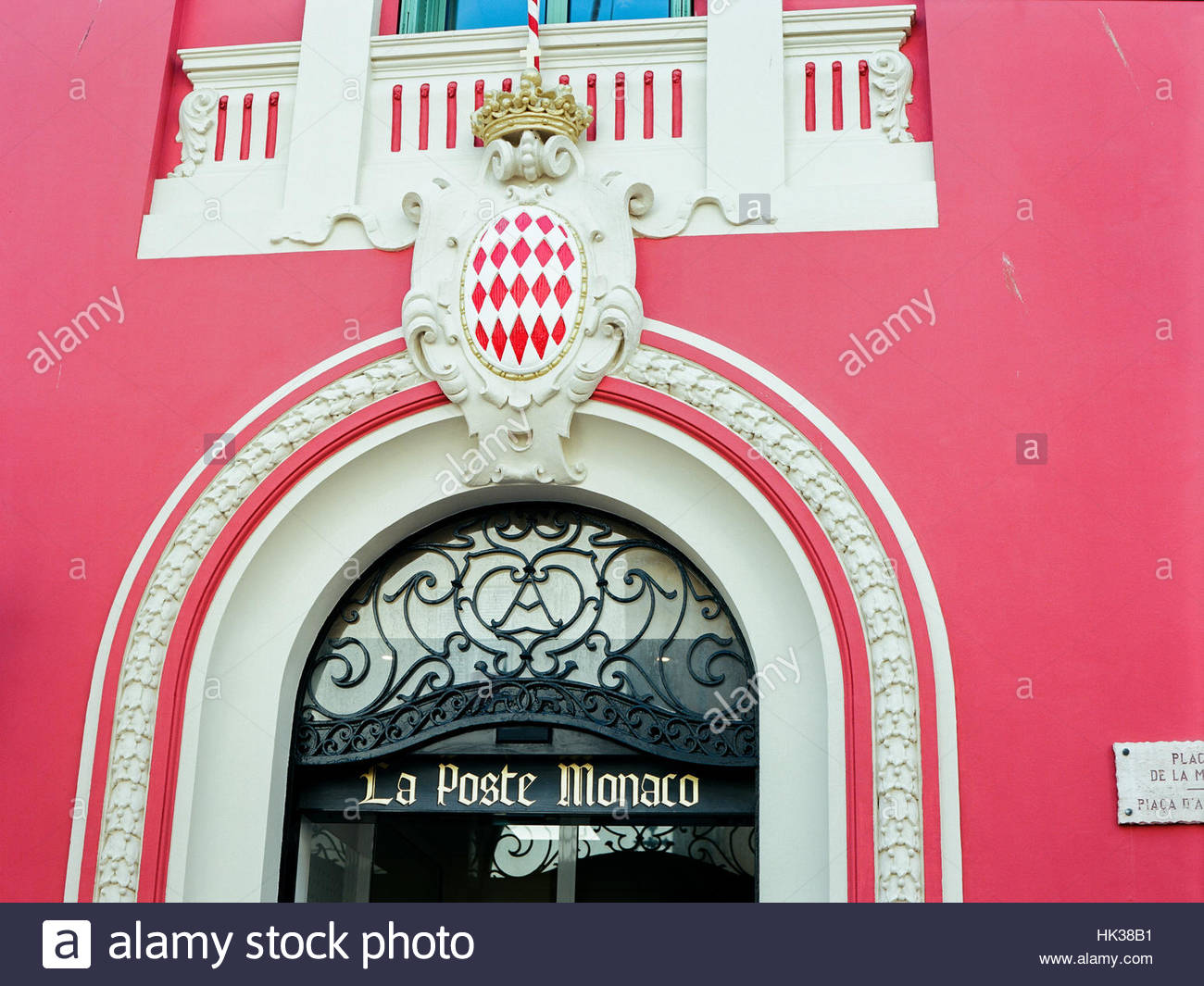 Post of monaco stock photos post of monaco stock images alamy