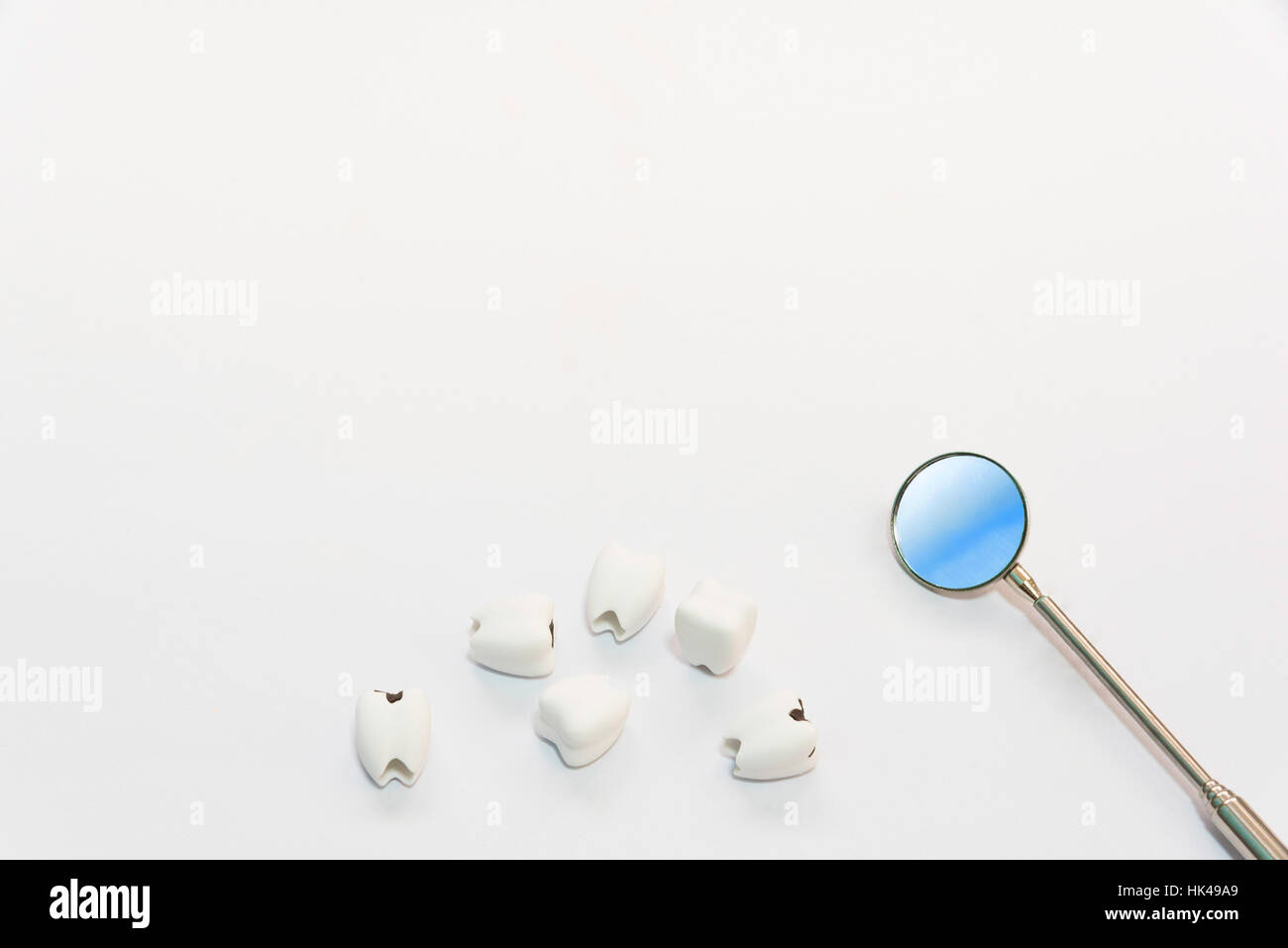 Bad teeth stock photos bad teeth stock images alamy dental care concept top view or flat lay of helathy teeth and bad teeth or caries ccuart Choice Image