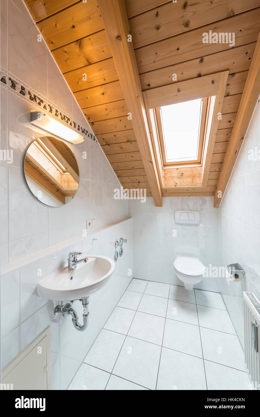 wood, tile, attic, bathroom, white, break, rest, pause, glass Stock ...
