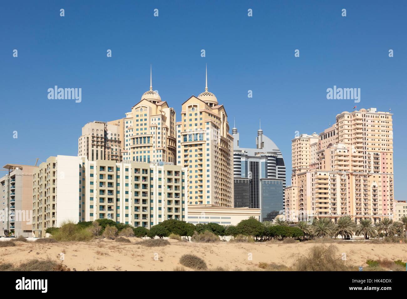 Dubai Academic City skyline. United Arab Emirates - Stock Image