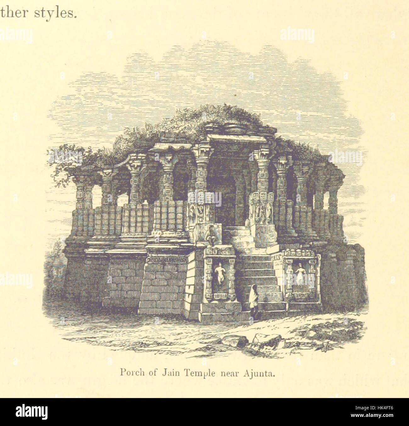 Architecture at Ahmedabad, the Capital of Goozerat, photographed by Colonel Biggs, ... With an historical and descriptive - Stock Image