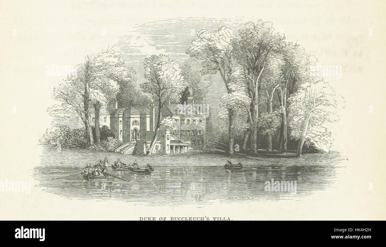 A Picturesque Tour of the River Thames in its Western Course; including particular descriptions of Richmond, Windsor, - Stock Image