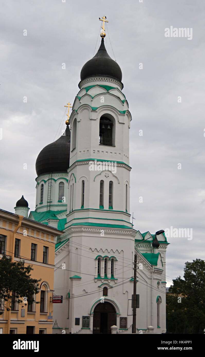 old church in Lomonosov, Sankt-Peterburg - Stock Image
