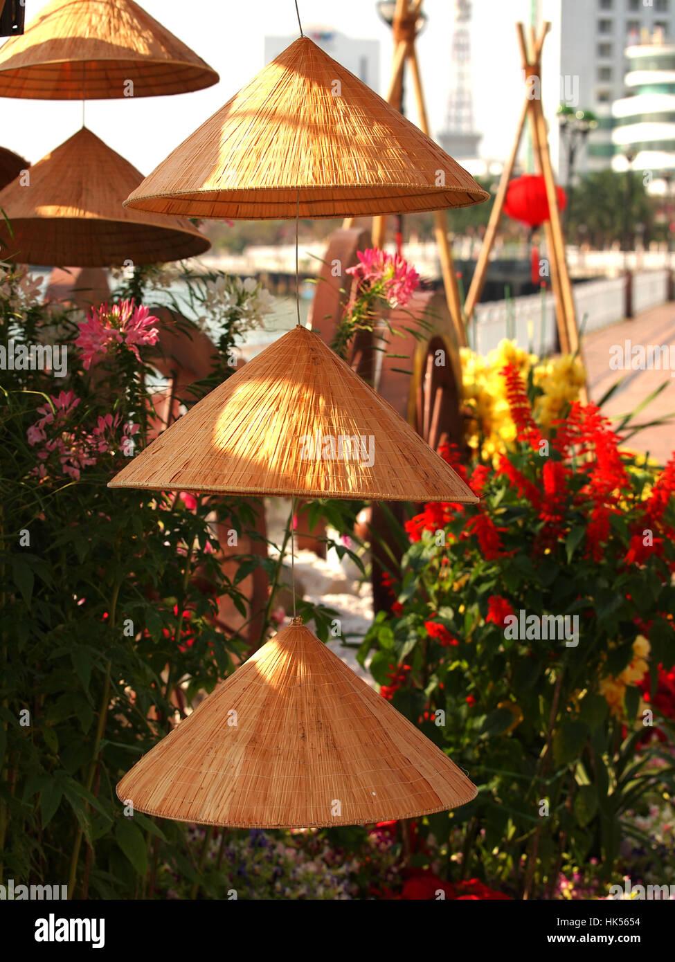 Vietnamese Tradicional Hat Stock Photos & Vietnamese Tradicional Hat ...
