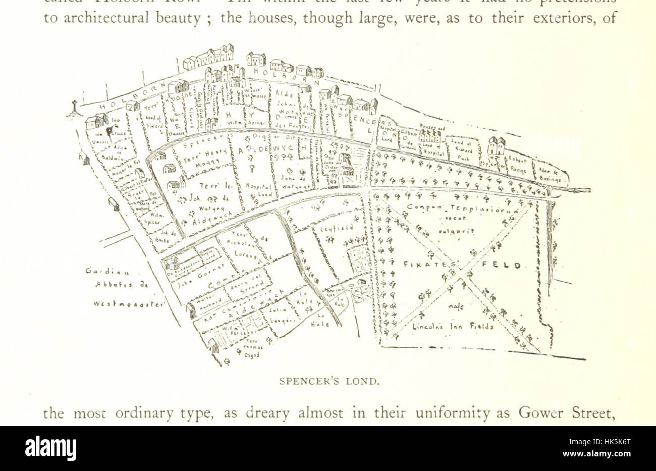 Lincolns Inn Fields And The Localities Adjacent Their Historical Topographical Associations