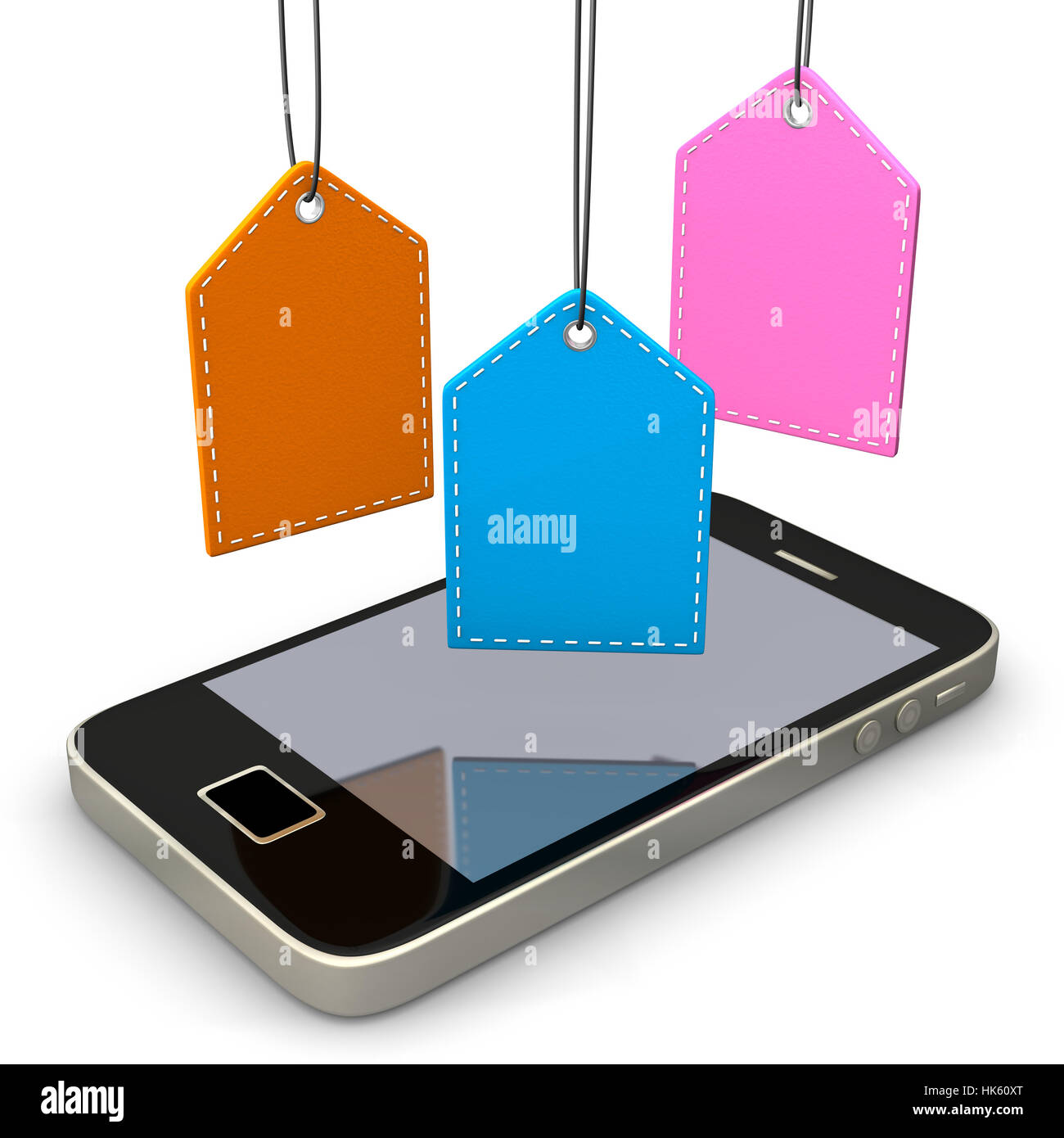 telephone, phone, PC, computers, computer, fashion, colour, illustration, - Stock Image