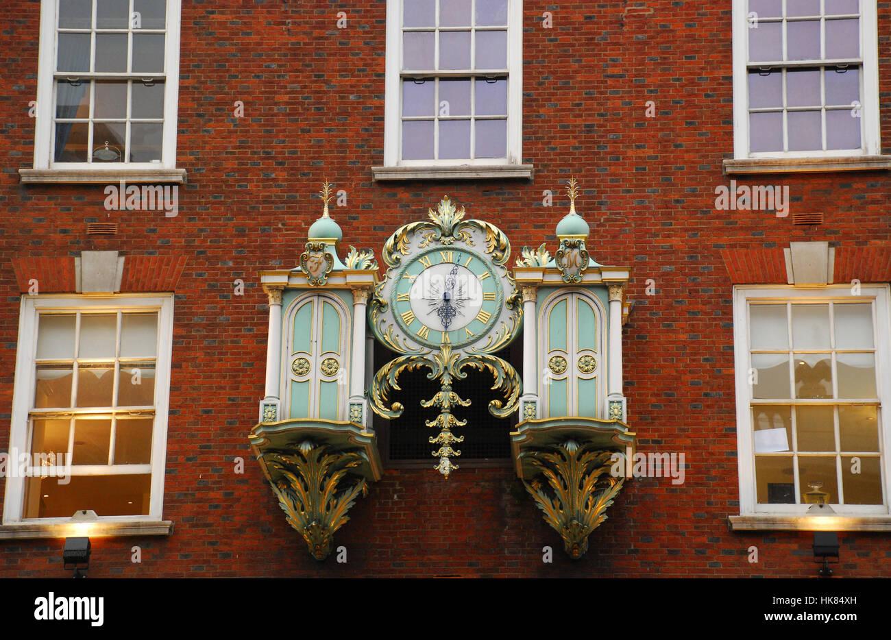 Fortnum & Mason department stores London UK - Stock Image