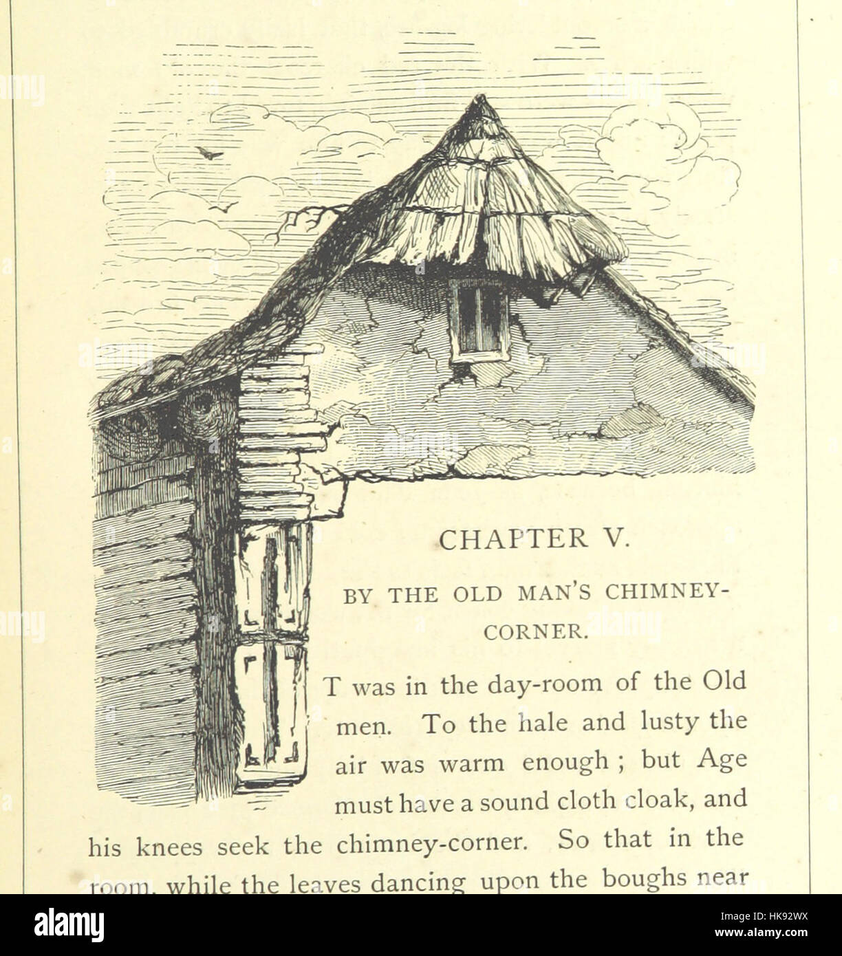 Image taken from page 65 of 'The Christian Vagabond ... With illustrations by the author' Image taken from - Stock Image