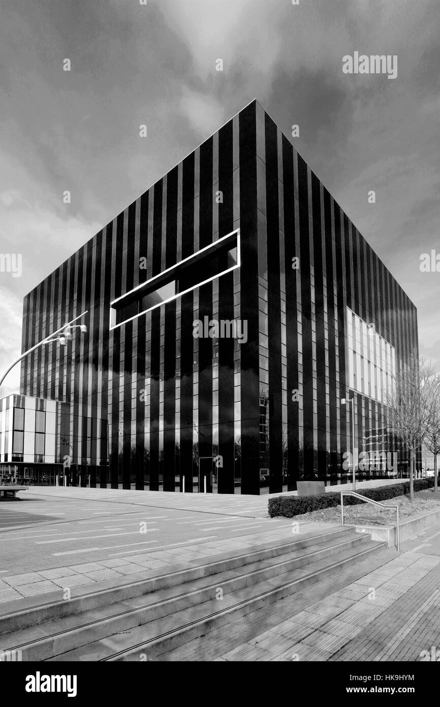 The Core building, Corby Cube, George Street, Corby, Northamptonshire, England - Stock Image