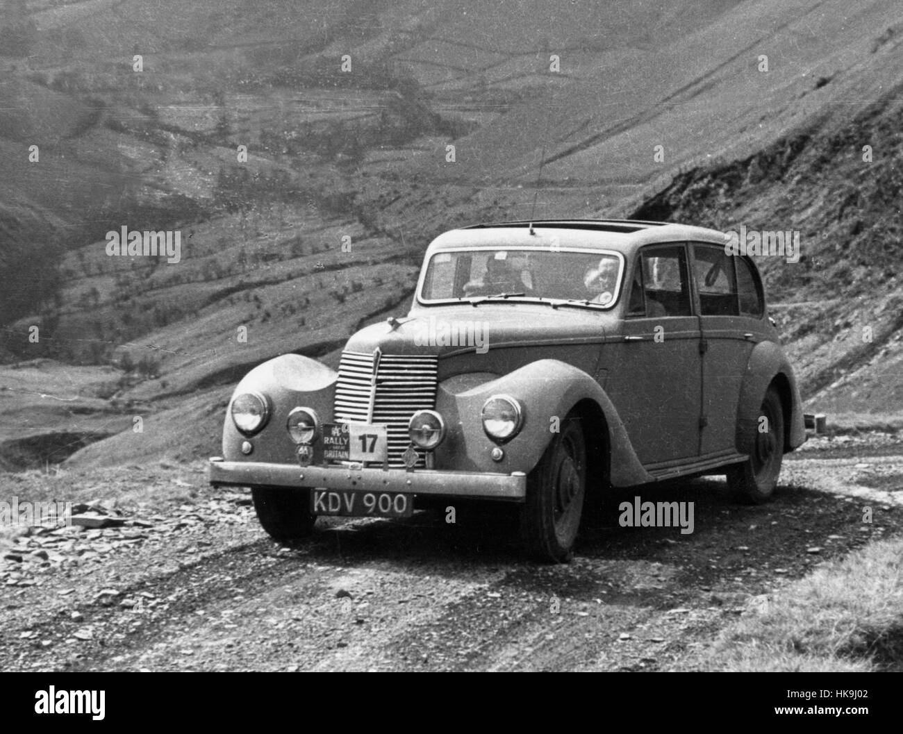1949 Armstrong Siddeley Lancaster - Stock Image