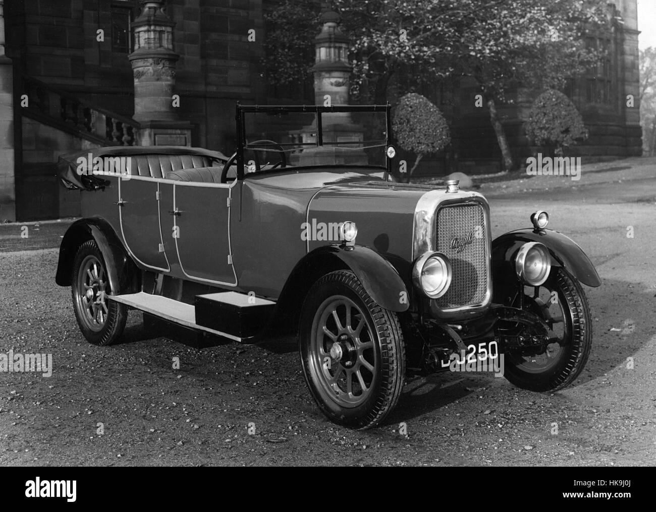1927 Argyll 12/40 - Stock Image