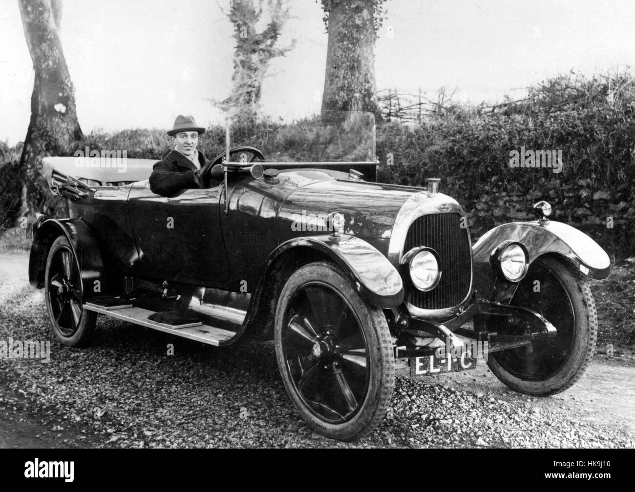 1919 Angus Sanderson - Stock Image