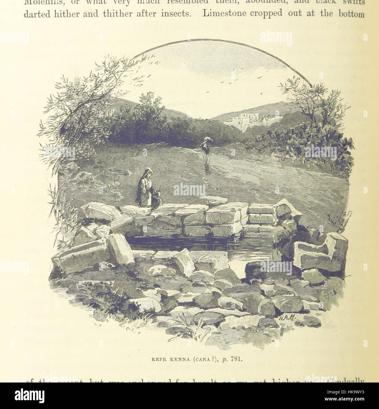 Image taken from page 848 of '[The Holy Land and the Bible. A book of Scripture illustrations gathered in Palestine, - Stock Image
