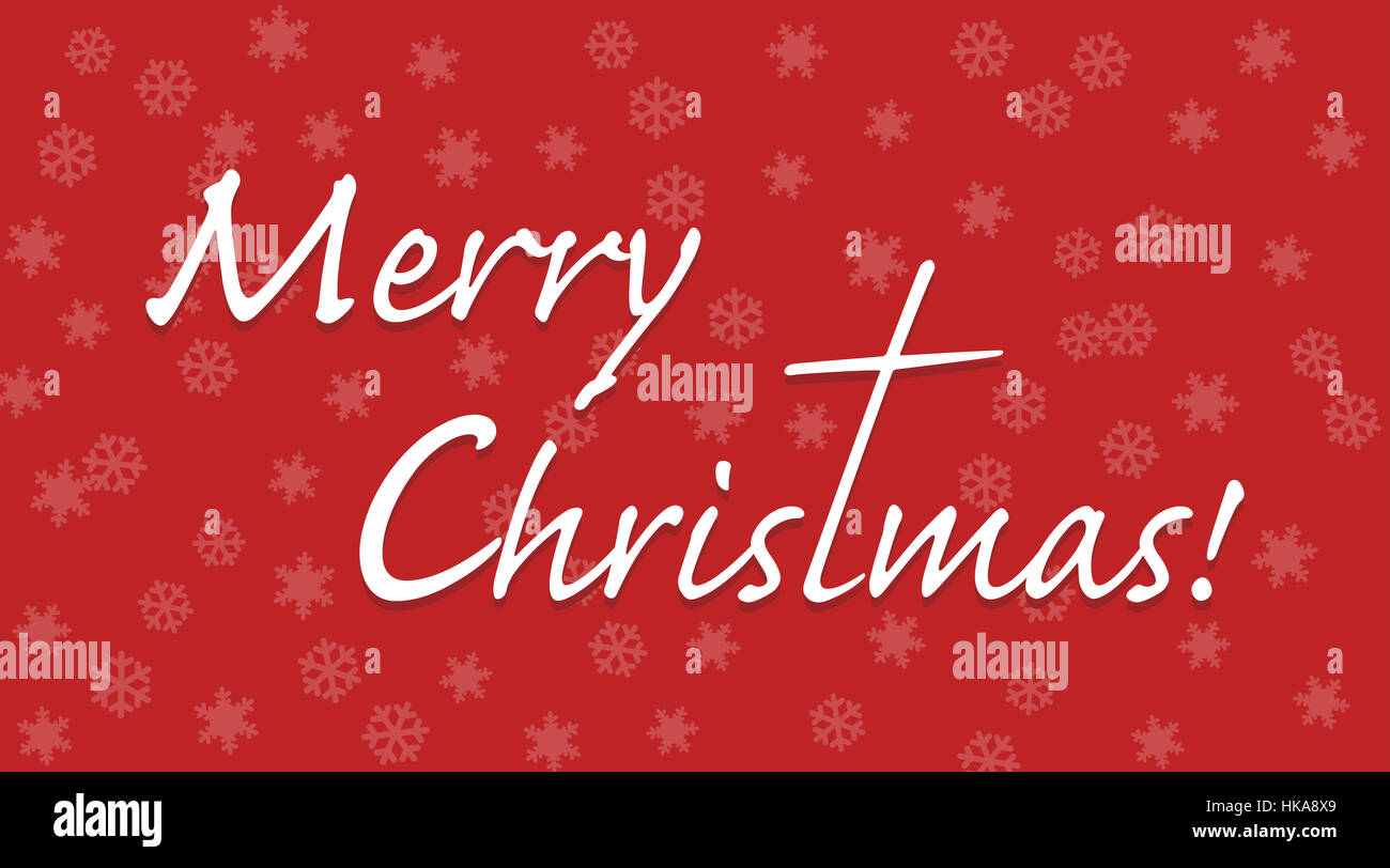Merry Christmas Letter T.Merry Christmas Text With Letter T Extended To A Cross