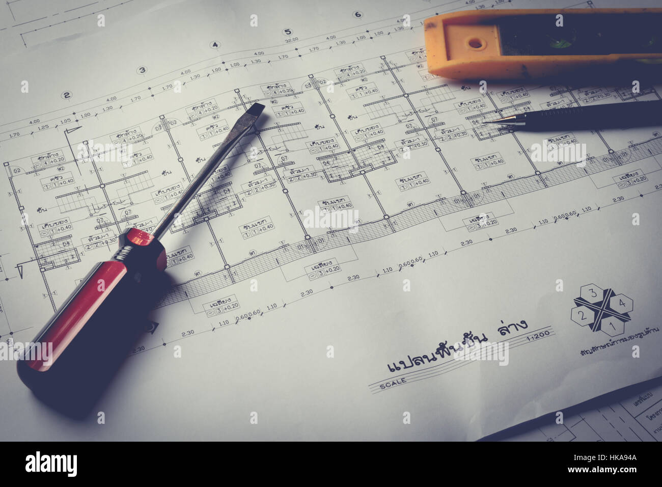 Engineering diagram blueprint paper drafting project sketch stock engineering diagram blueprint paper drafting project sketch architecturalselective focusvintage filter malvernweather Image collections