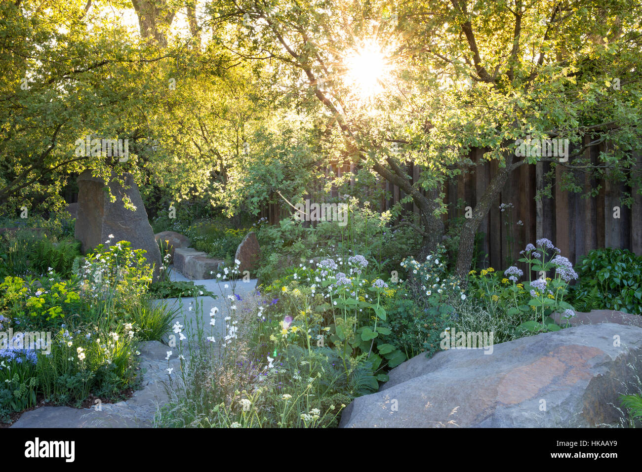 The M&G Garden, Chelsea Flower Show 2016, London: Designer: Cleve West - Stock Image