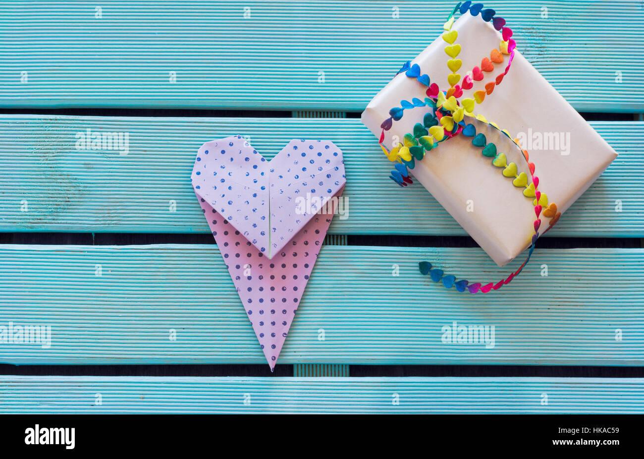 How to origami heart tie | heart tie craft tutorial – life hack | 926x1300