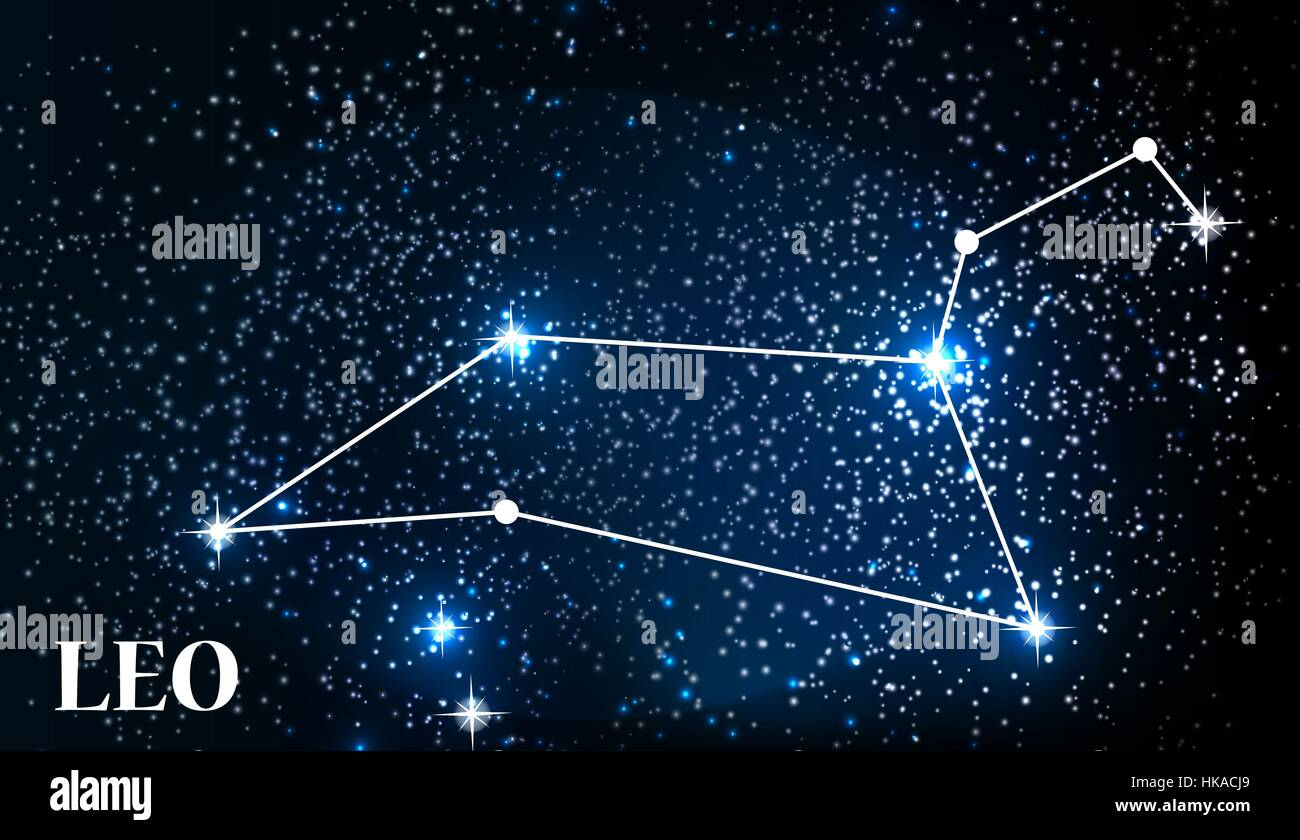 symbol leo zodiac sign. vector illustration stock vector art