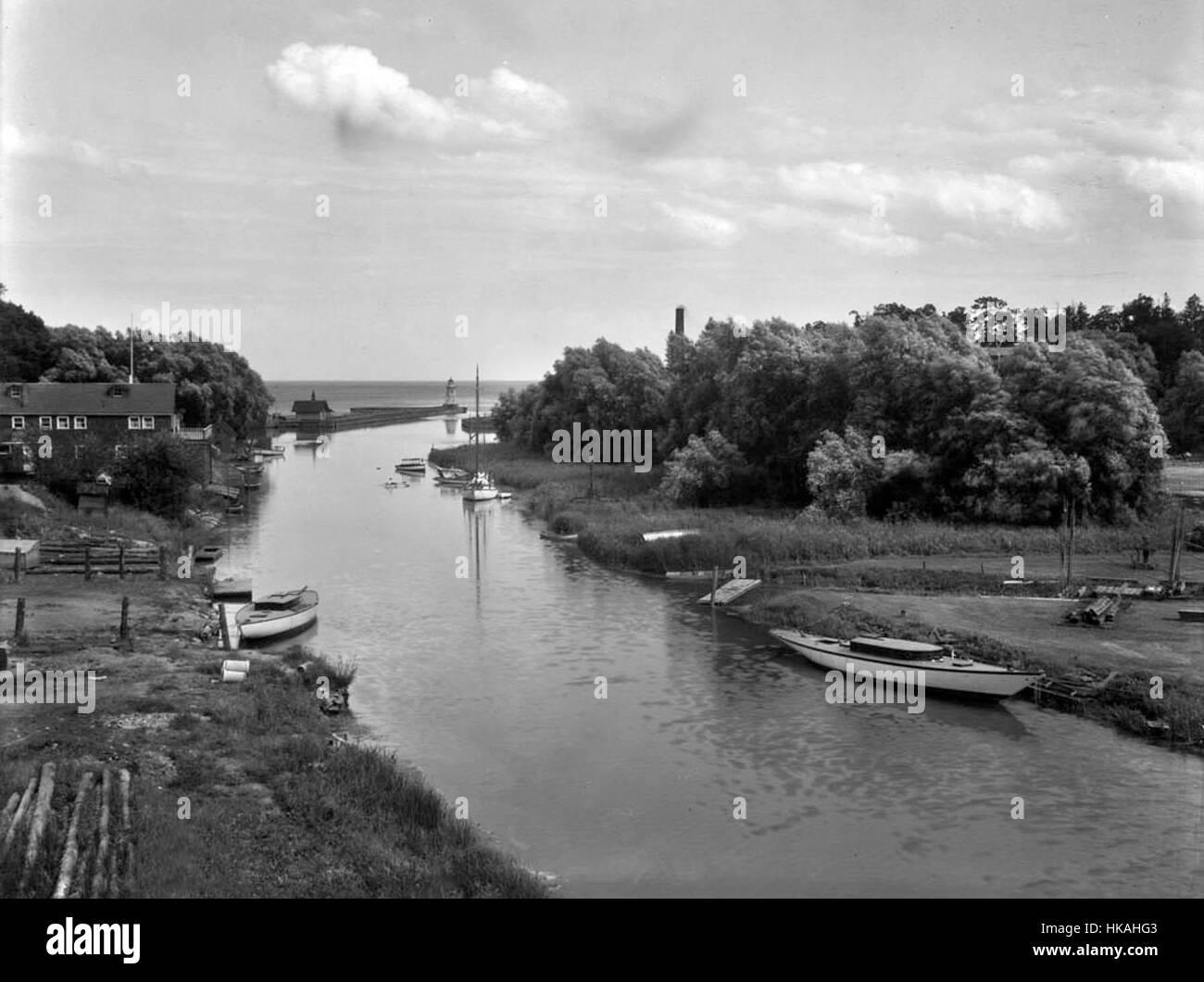 Oakville, ON - Historical Photos (1920-1980 - Stock Image
