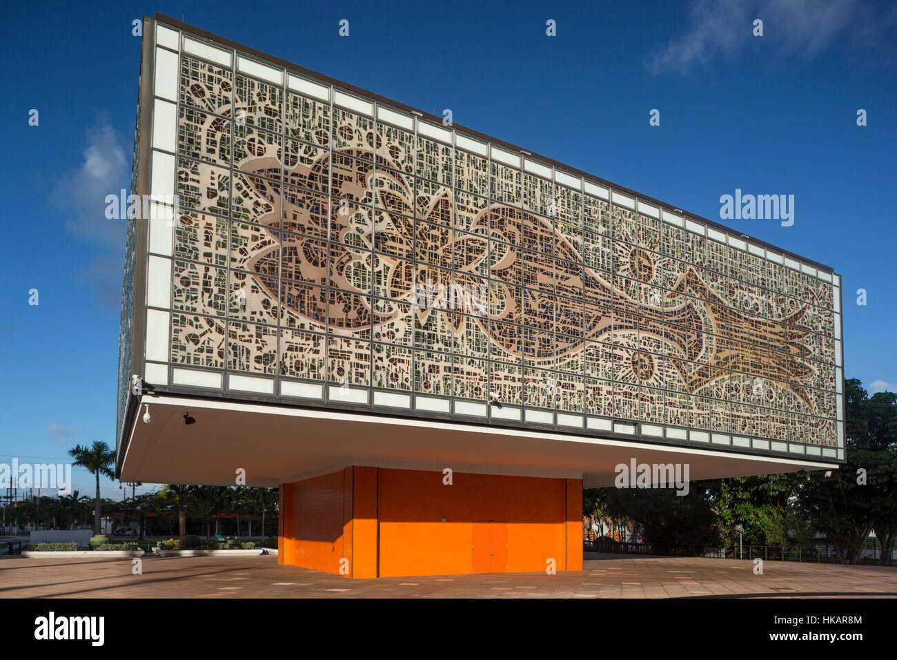 JEWEL BOX ANNEX (©IGNACIO CARRERA JUSTIZ 1973) NATIONAL YOUNGARTS CAMPUS MIAMI FLORIDA USA - Stock Image