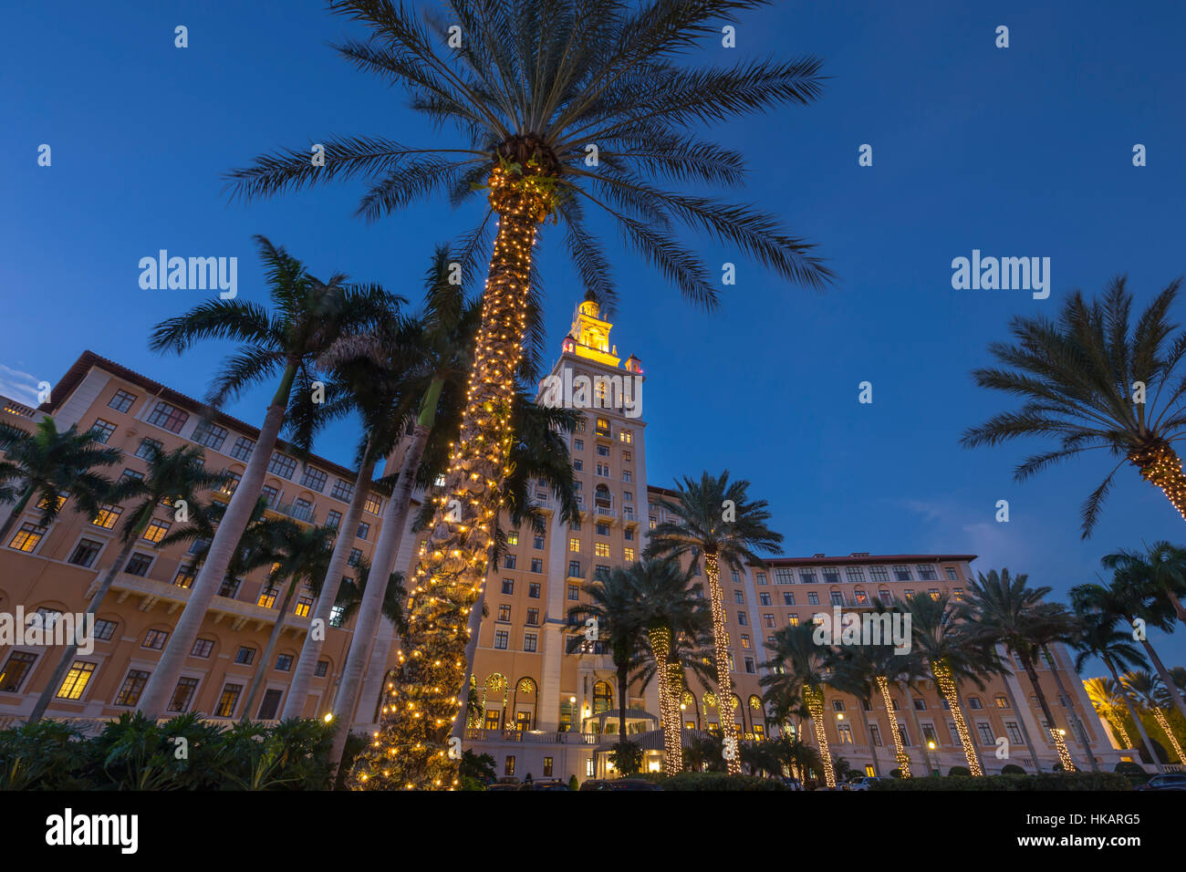 christmas decorations historic biltmore hotel shultze weaver 1926 coral gables miami florida - Florida Christmas Decorations