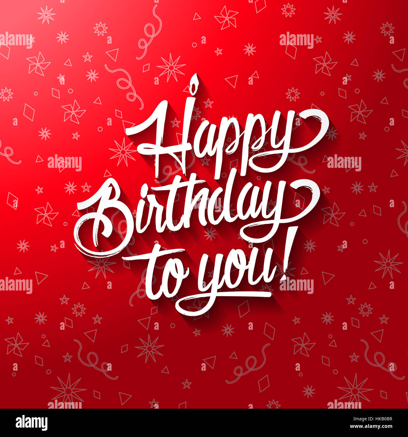 Happy birthday to you lettering text vector illustration birthday happy birthday to you lettering text vector illustration birthday greeting card design kristyandbryce Image collections