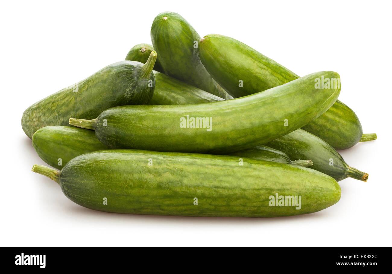 cucumber isolated Stock Photo