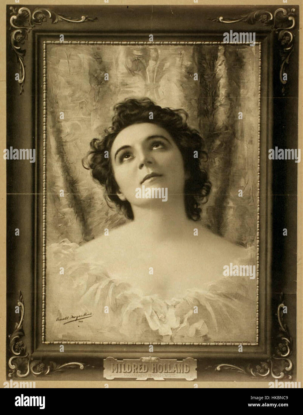 1899 MildredHolland byElmerChickering LibraryOfCongress - Stock Image