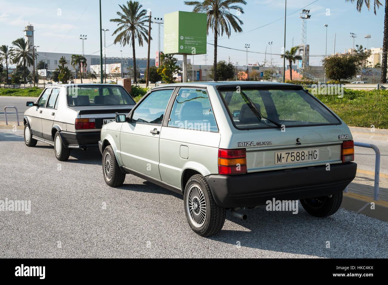 1986 Seat Ibiza 1.2 GLX - Stock Image