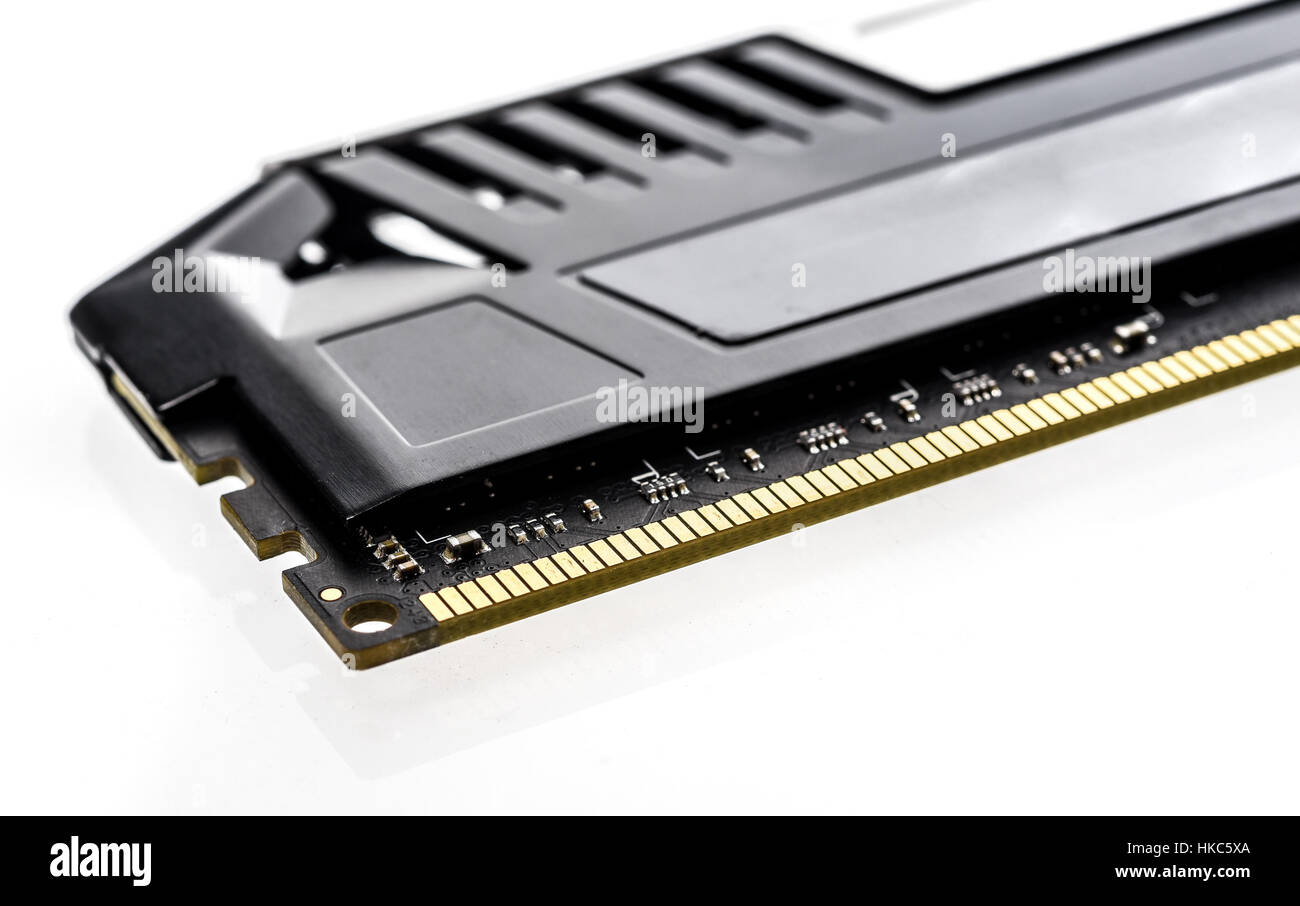 Ram Memory Module Stock Photos Images Alamy Memori Ddr2 2gb Pake Hedsink Modern Professional With Black Radiator Heat Sink Isolated On White Background