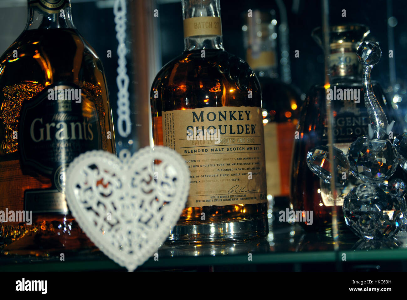 #Drinks from bar, #high quality #whisky photo. - Stock Image