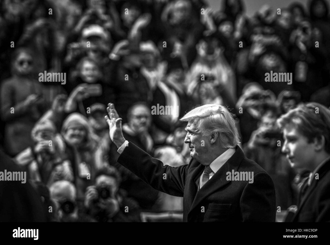 Black clear all filters page 1 of 5 u s president donald trump waves to the crowd during the 58th presidential inauguration january 20